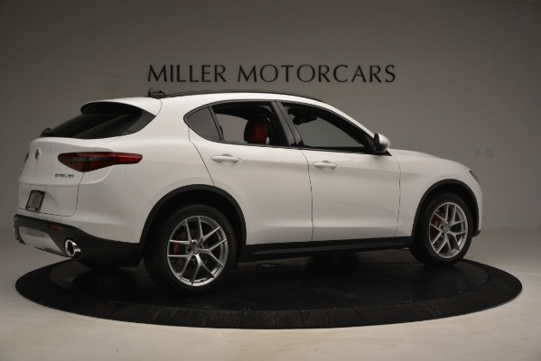 New 2019 Alfa Romeo Stelvio Ti Sport Q4 for sale $54,840 at Maserati of Greenwich in Greenwich CT 06830 8