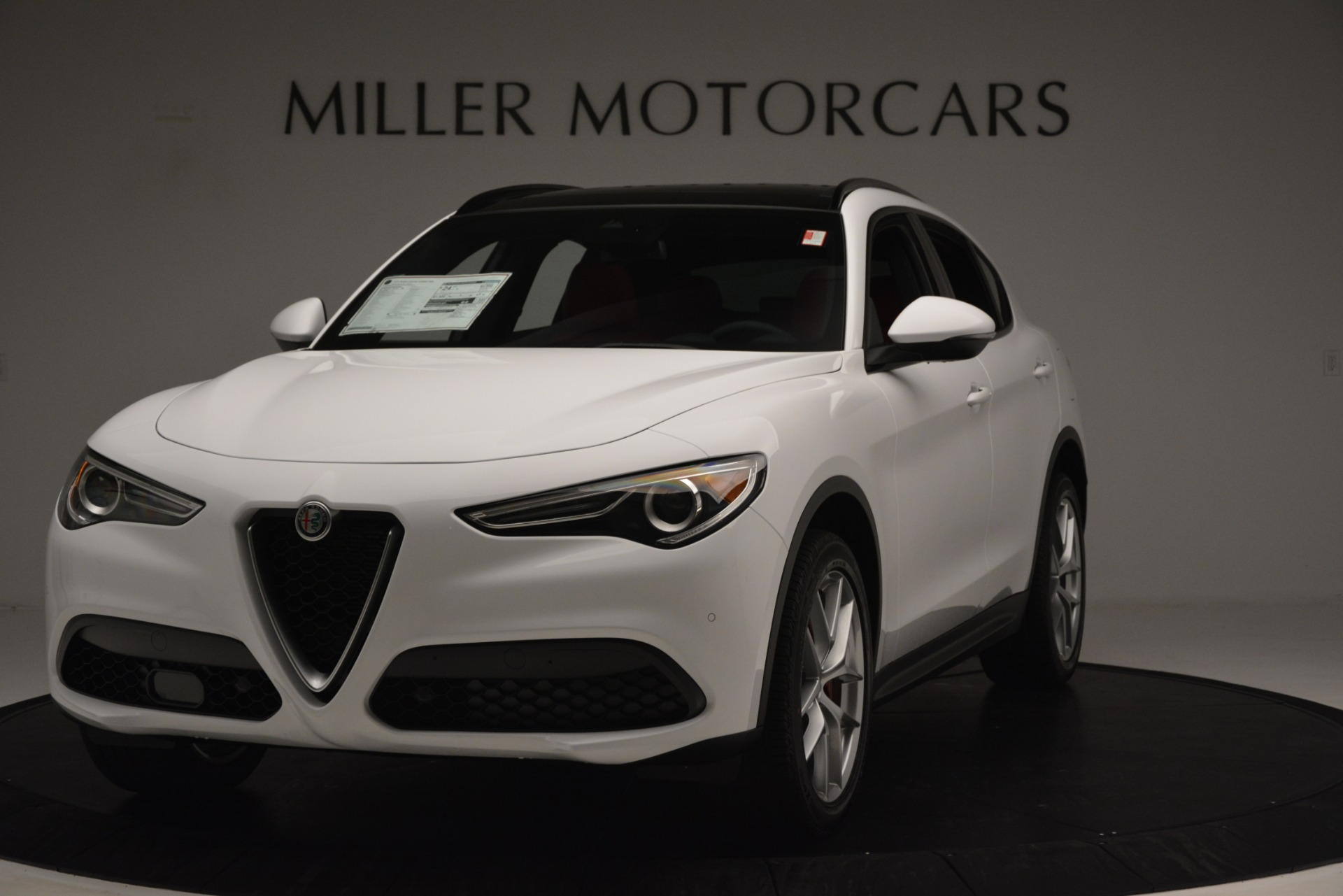 New 2019 Alfa Romeo Stelvio Ti Sport Q4 for sale $54,840 at Maserati of Greenwich in Greenwich CT 06830 1