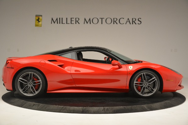 Used 2018 Ferrari 488 GTB for sale Sold at Maserati of Greenwich in Greenwich CT 06830 9