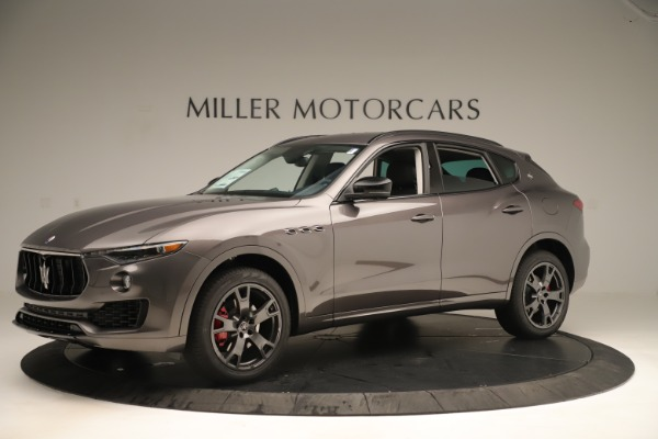 New 2019 Maserati Levante Q4 Nerissimo for sale $89,850 at Maserati of Greenwich in Greenwich CT 06830 2