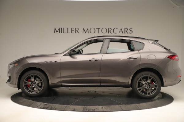New 2019 Maserati Levante Q4 Nerissimo for sale $89,850 at Maserati of Greenwich in Greenwich CT 06830 3