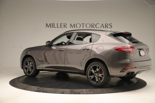 New 2019 Maserati Levante Q4 Nerissimo for sale $89,850 at Maserati of Greenwich in Greenwich CT 06830 4