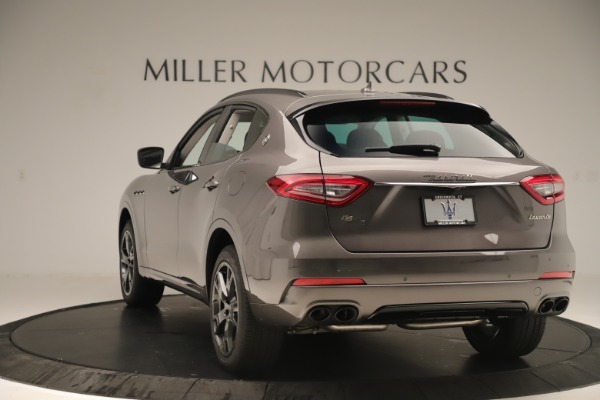 New 2019 Maserati Levante Q4 Nerissimo for sale $89,850 at Maserati of Greenwich in Greenwich CT 06830 5
