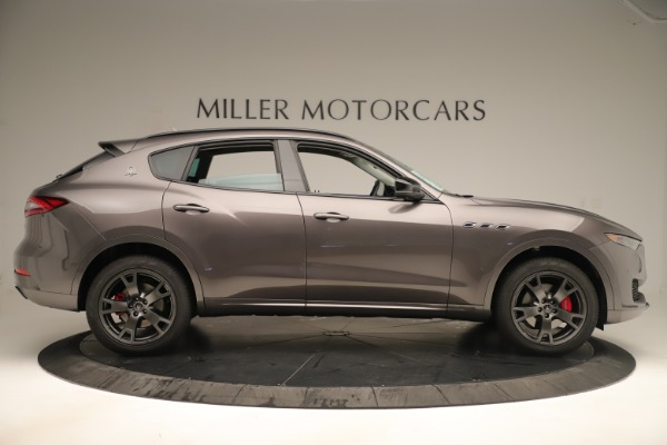 New 2019 Maserati Levante Q4 Nerissimo for sale $89,850 at Maserati of Greenwich in Greenwich CT 06830 9