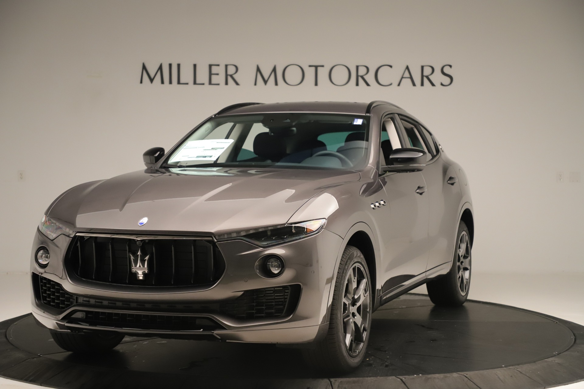 New 2019 Maserati Levante Q4 Nerissimo for sale $89,850 at Maserati of Greenwich in Greenwich CT 06830 1