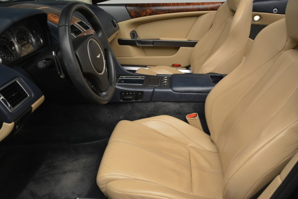 Used 2007 Aston Martin DB9 Convertible for sale Sold at Maserati of Greenwich in Greenwich CT 06830 15