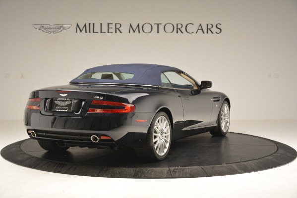 Used 2007 Aston Martin DB9 Convertible for sale Sold at Maserati of Greenwich in Greenwich CT 06830 28