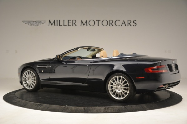 Used 2007 Aston Martin DB9 Convertible for sale Sold at Maserati of Greenwich in Greenwich CT 06830 4