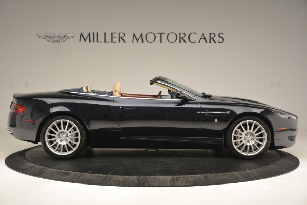 Used 2007 Aston Martin DB9 Convertible for sale Sold at Maserati of Greenwich in Greenwich CT 06830 9