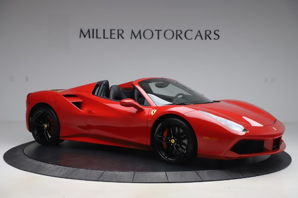 Used 2017 Ferrari 488 Spider for sale $281,900 at Maserati of Greenwich in Greenwich CT 06830 10