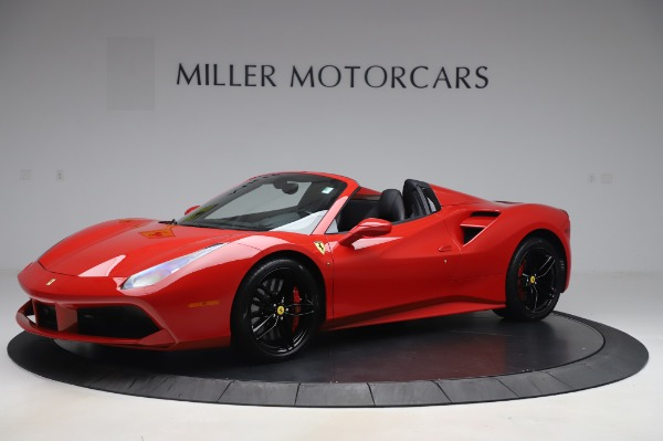 Used 2017 Ferrari 488 Spider for sale $281,900 at Maserati of Greenwich in Greenwich CT 06830 2