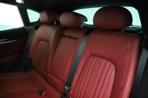 New 2019 Maserati Levante Q4 for sale Sold at Maserati of Greenwich in Greenwich CT 06830 18
