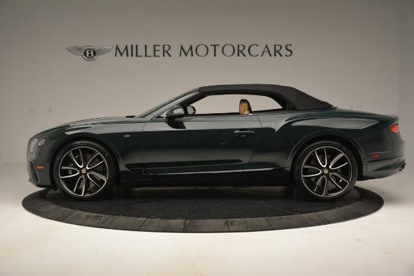 New 2020 Bentley Continental GTC V8 for sale Sold at Maserati of Greenwich in Greenwich CT 06830 15