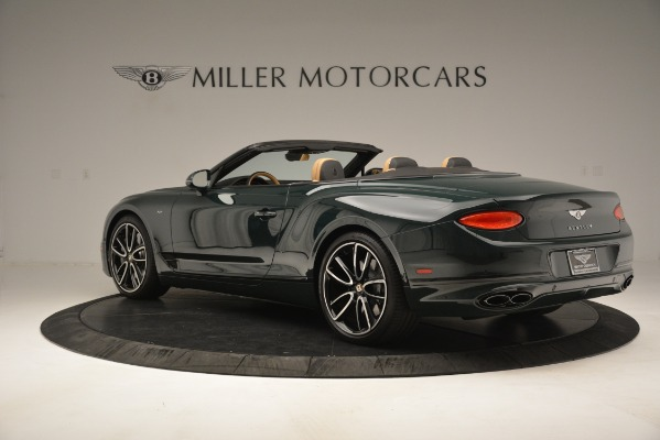 New 2020 Bentley Continental GTC V8 for sale Sold at Maserati of Greenwich in Greenwich CT 06830 4