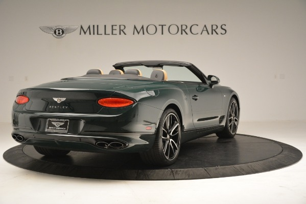 New 2020 Bentley Continental GTC V8 for sale Sold at Maserati of Greenwich in Greenwich CT 06830 7
