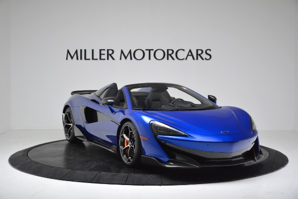 New 2020 McLaren 600LT SPIDER Convertible for sale $304,970 at Maserati of Greenwich in Greenwich CT 06830 11