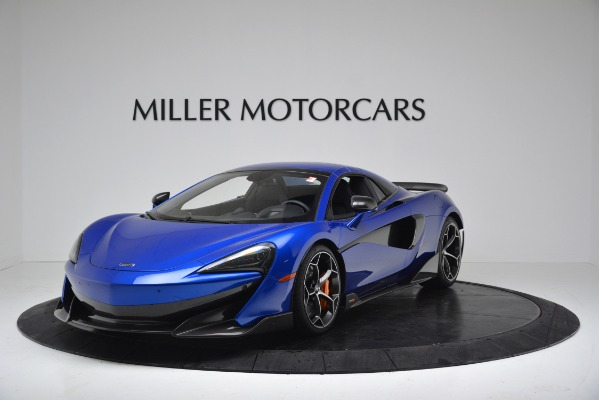 New 2020 McLaren 600LT SPIDER Convertible for sale $304,970 at Maserati of Greenwich in Greenwich CT 06830 12