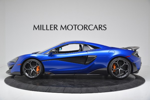 New 2020 McLaren 600LT SPIDER Convertible for sale $304,970 at Maserati of Greenwich in Greenwich CT 06830 13