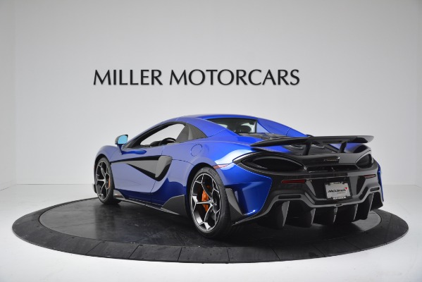 New 2020 McLaren 600LT SPIDER Convertible for sale $304,970 at Maserati of Greenwich in Greenwich CT 06830 14