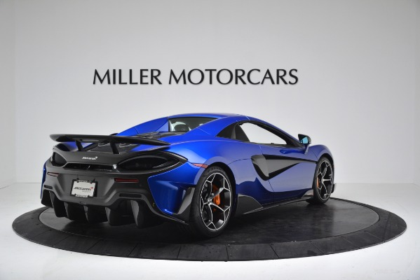 New 2020 McLaren 600LT SPIDER Convertible for sale $304,970 at Maserati of Greenwich in Greenwich CT 06830 15