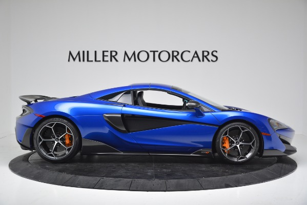 New 2020 McLaren 600LT SPIDER Convertible for sale $304,970 at Maserati of Greenwich in Greenwich CT 06830 16