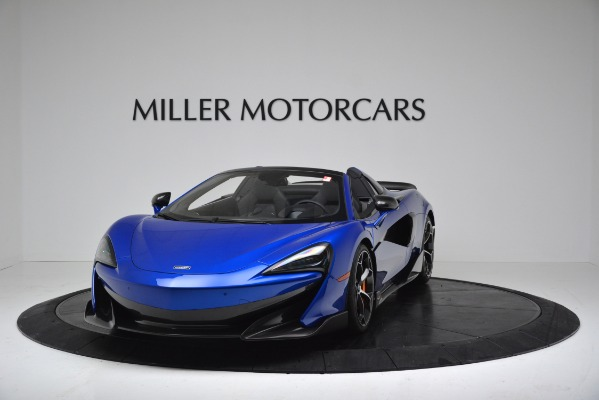 New 2020 McLaren 600LT SPIDER Convertible for sale $304,970 at Maserati of Greenwich in Greenwich CT 06830 2
