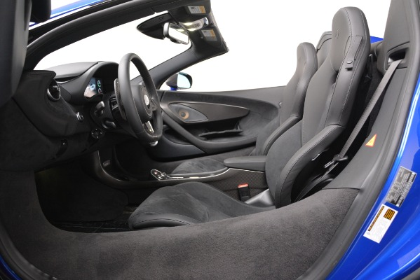 New 2020 McLaren 600LT SPIDER Convertible for sale Sold at Maserati of Greenwich in Greenwich CT 06830 20