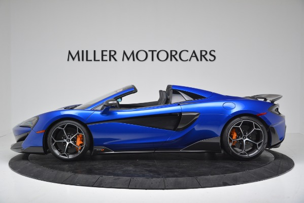 New 2020 McLaren 600LT SPIDER Convertible for sale $304,970 at Maserati of Greenwich in Greenwich CT 06830 3