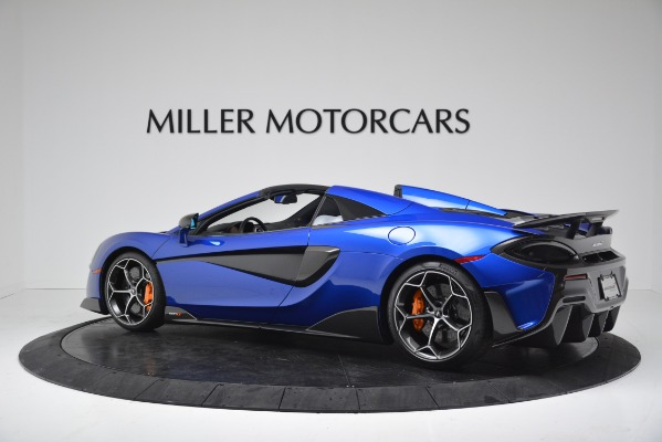 New 2020 McLaren 600LT SPIDER Convertible for sale $304,970 at Maserati of Greenwich in Greenwich CT 06830 4