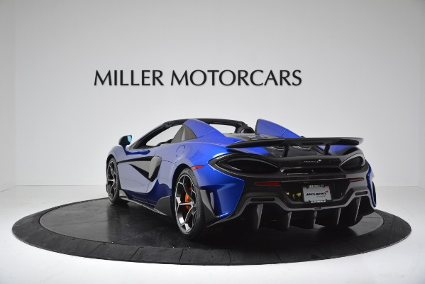 New 2020 McLaren 600LT SPIDER Convertible for sale $304,970 at Maserati of Greenwich in Greenwich CT 06830 5