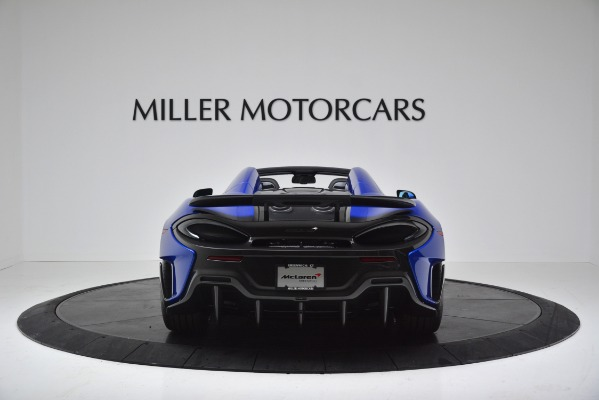 New 2020 McLaren 600LT SPIDER Convertible for sale $304,970 at Maserati of Greenwich in Greenwich CT 06830 6