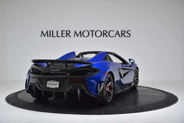 New 2020 McLaren 600LT SPIDER Convertible for sale $304,970 at Maserati of Greenwich in Greenwich CT 06830 7