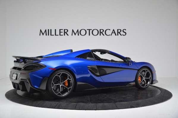 New 2020 McLaren 600LT SPIDER Convertible for sale $304,970 at Maserati of Greenwich in Greenwich CT 06830 8