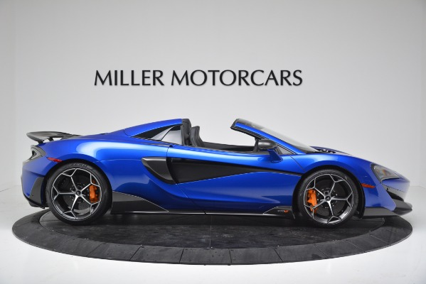 New 2020 McLaren 600LT SPIDER Convertible for sale $304,970 at Maserati of Greenwich in Greenwich CT 06830 9
