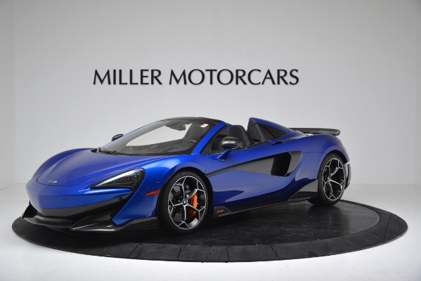 New 2020 McLaren 600LT SPIDER Convertible for sale $304,970 at Maserati of Greenwich in Greenwich CT 06830 1