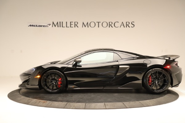 Used 2020 McLaren 600LT Spider for sale $249,900 at Maserati of Greenwich in Greenwich CT 06830 10