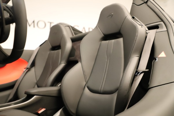 Used 2020 McLaren 600LT Spider for sale $249,900 at Maserati of Greenwich in Greenwich CT 06830 27
