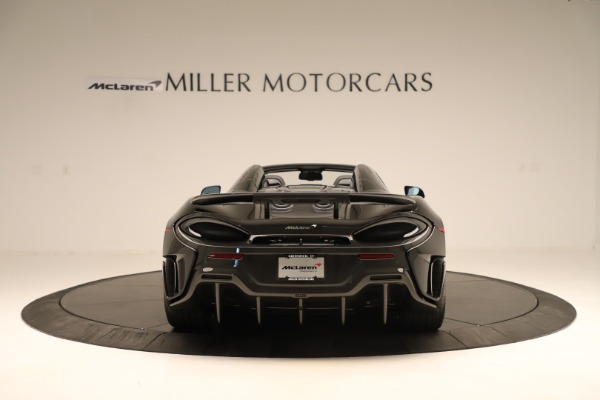Used 2020 McLaren 600LT Spider for sale $249,900 at Maserati of Greenwich in Greenwich CT 06830 4