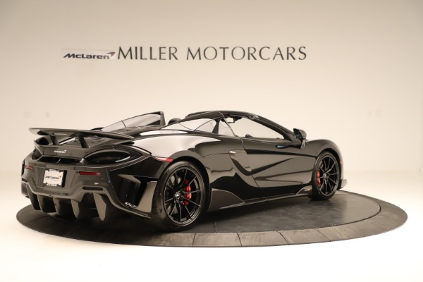 Used 2020 McLaren 600LT Spider for sale $249,900 at Maserati of Greenwich in Greenwich CT 06830 5