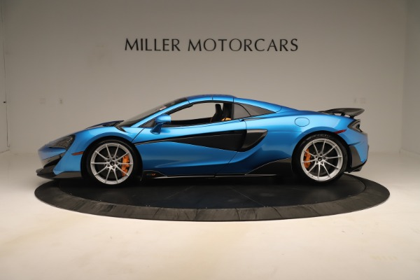 New 2020 McLaren 600LT SPIDER Convertible for sale $303,059 at Maserati of Greenwich in Greenwich CT 06830 11