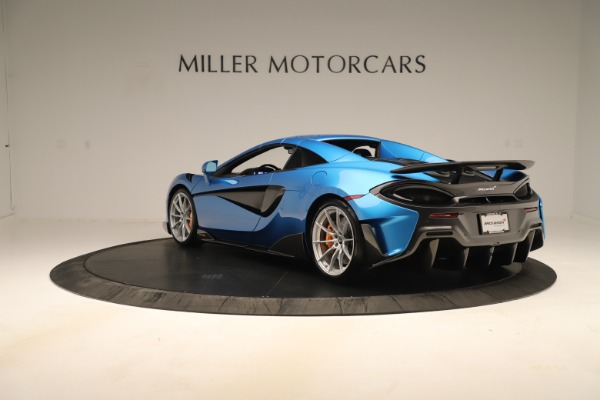 New 2020 McLaren 600LT SPIDER Convertible for sale $303,059 at Maserati of Greenwich in Greenwich CT 06830 12