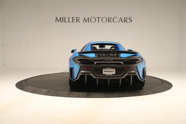 New 2020 McLaren 600LT SPIDER Convertible for sale $303,059 at Maserati of Greenwich in Greenwich CT 06830 13