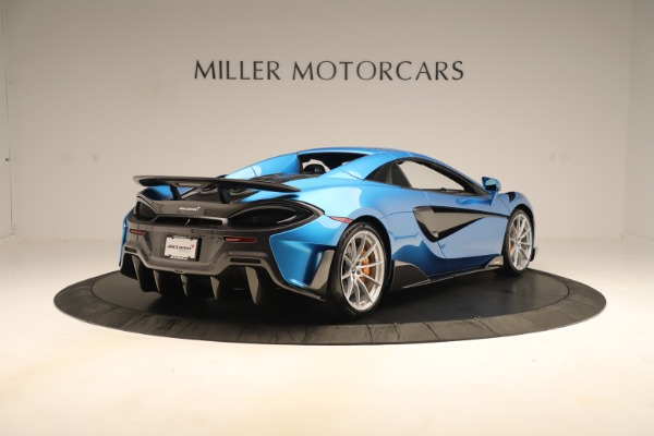 New 2020 McLaren 600LT SPIDER Convertible for sale $303,059 at Maserati of Greenwich in Greenwich CT 06830 14