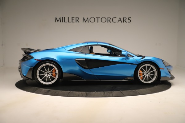 New 2020 McLaren 600LT SPIDER Convertible for sale $303,059 at Maserati of Greenwich in Greenwich CT 06830 15