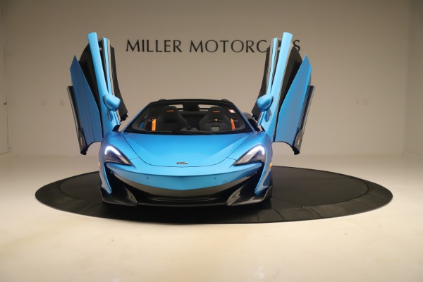 New 2020 McLaren 600LT SPIDER Convertible for sale $303,059 at Maserati of Greenwich in Greenwich CT 06830 17