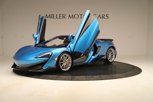 New 2020 McLaren 600LT SPIDER Convertible for sale $303,059 at Maserati of Greenwich in Greenwich CT 06830 18