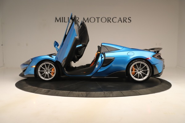 New 2020 McLaren 600LT SPIDER Convertible for sale $303,059 at Maserati of Greenwich in Greenwich CT 06830 19