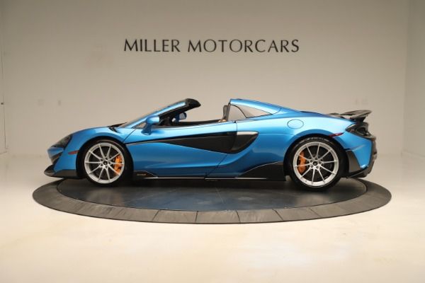 New 2020 McLaren 600LT SPIDER Convertible for sale $303,059 at Maserati of Greenwich in Greenwich CT 06830 2