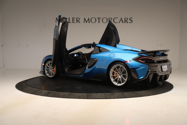 New 2020 McLaren 600LT SPIDER Convertible for sale $303,059 at Maserati of Greenwich in Greenwich CT 06830 20