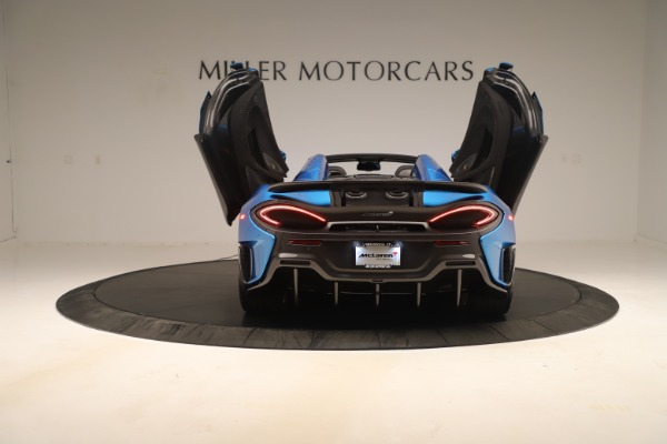 New 2020 McLaren 600LT SPIDER Convertible for sale $303,059 at Maserati of Greenwich in Greenwich CT 06830 21